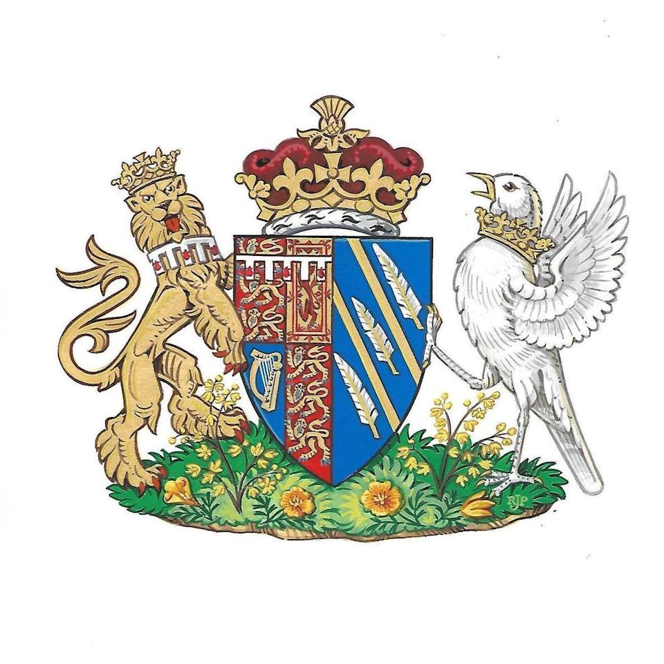 Coat of Arms: the Duchess of Sussex (Kensington Palace)