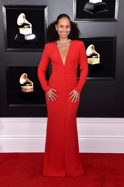 Host Alicia Keys attends the 61st Annual GRAMMY Awards at Staples Center on February 10, 2019 in Los Angeles, California.  (Photo by John Shearer/Getty Images for The Recording Academy)