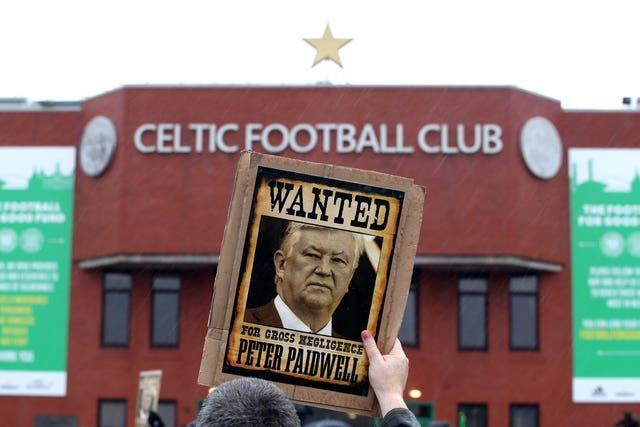 A poster of Peter Lawwell