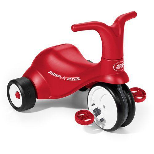 "<p><strong>Radio Flyer</strong></p><p>walmart.com</p><p><strong>$66.63</strong></p><p><a href=""https://go.redirectingat.com?id=74968X1596630&url=https%3A%2F%2Fwww.walmart.com%2Fip%2F21188105&sref=https%3A%2F%2Fwww.goodhousekeeping.com%2Fchildrens-products%2Ftoy-reviews%2Fg5150%2Fbest-toys-for-two-year-olds%2F"" rel=""nofollow noopener"" target=""_blank"" data-ylk=""slk:Shop Now"" class=""link rapid-noclick-resp"">Shop Now</a></p><p>Your toddlers can ride anywhere on this sporty scooter. It features <strong>wide-set front wheels that help with stability,</strong> while the handlebars help them steer. There's even a storage compartment under the seat. It holds up to 42 pounds, so they can ride around starting at age 1 and until they're about 3 years old. <em>Ages 1+</em></p>"
