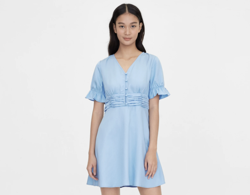 Purpose Cinched Short Sleeve Dress. (PHOTO: Pomelo)