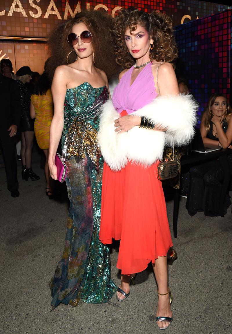Amal Clooney and Cindy Crawford Embrace Disco Fever with