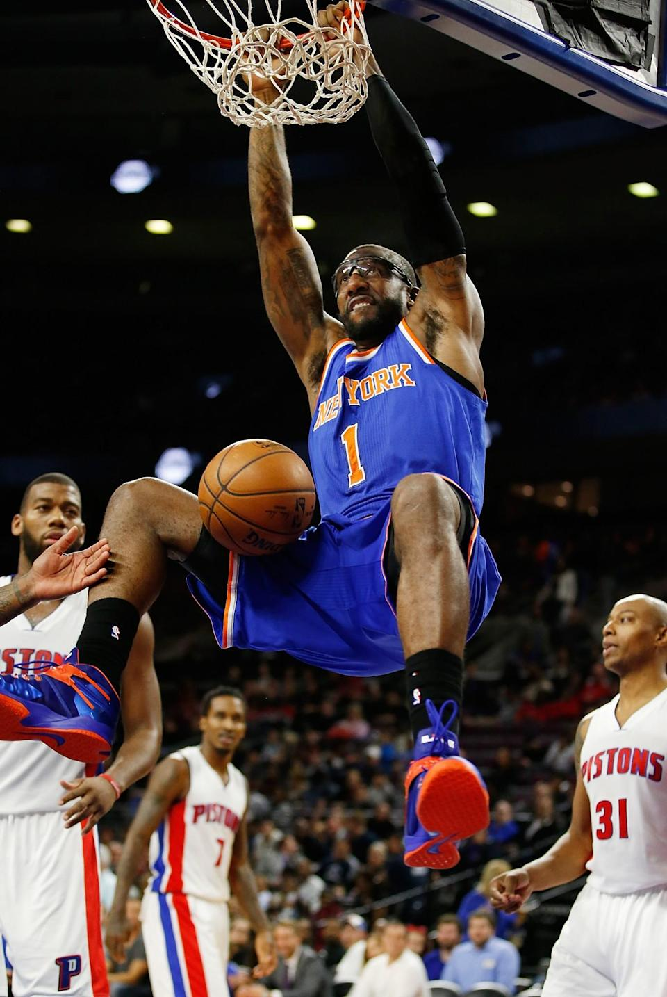 <p>Amare Stoudemire was selected 9th overall by the Phoenix Suns in 2002. Had he gone to college, he likely would have gone to Memphis. </p>