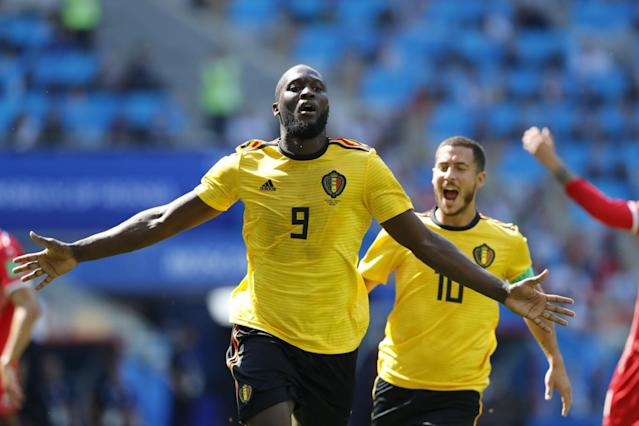 Belgium 5-2 Tunisia: Romelu Lukaku and Eden Hazard bag braces as Red Devils run riot