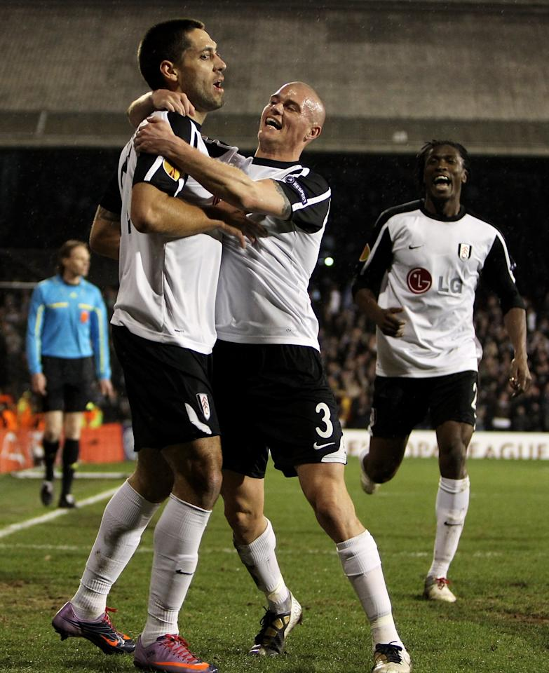 <p>March 18, 2010 Fulham 4 (5) Juventus 1 (4)<br /> Roy Hodgson's Fulham were up against it entering the last-16 quarter-final against Juventus. Having been outplayed in Turin, Dickson Etuhu's deflected strike gave them a precious away goal in a 3-1 defeat.<br /> Facing a two-goal deficit at Craven Cottage, things went from bad to worse almost instantly as David Trezeguet seized upon some sluggish defending to slot beyond Mark Schwarzer and put Juventus 4-1 up on aggregate after just two minutes.<br /> Cue the comeback. Bobby Zamora slammed home on ten minutes, Fabio Cannavaro was sent off shortly after, and Zoltan Gera scored before the break to make the score 3-4 on aggregate.<br /> Gera converted a penalty shortly after the break to level the tie, before Clint Dempsey's sublime chip won it for the hosts with eight minutes remaining. Jonathan Zebina was sent off in injury time for lashing out at Damien Duff. </p>