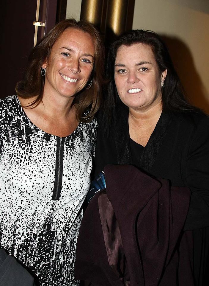 After a little over a year together, talk show host Rosie O'Donnell and artist Tracy Kachtick-Anders split in February. But it didn't take long for Rosie to find love again! She recently announced her engagement to headhunter Michelle Rounds.