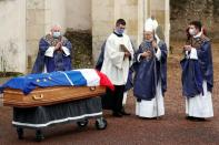 Funeral of late former French President Valery Giscard d'Estaing in Authon