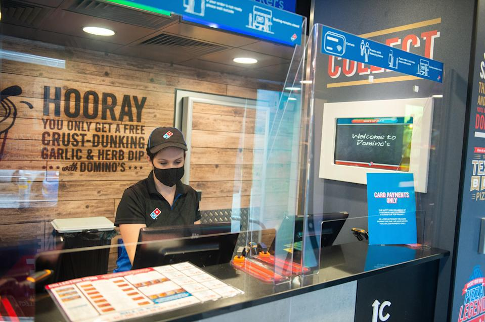 <p>The chain saw a boost in sales during the pandemic (Domino's / PA)</p>