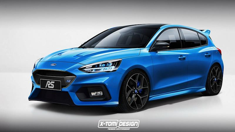 New Ford Focus RS render