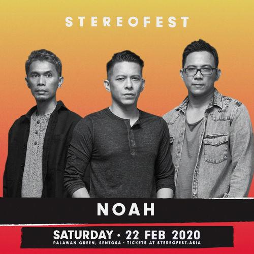 Indonesian band NOAH, previously known as Peterpan, will be playing too.