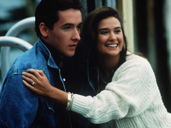 Hoops (John Cusack) is drawn to Demi Moore's Cassandra on the island of Nantucket (Rex)