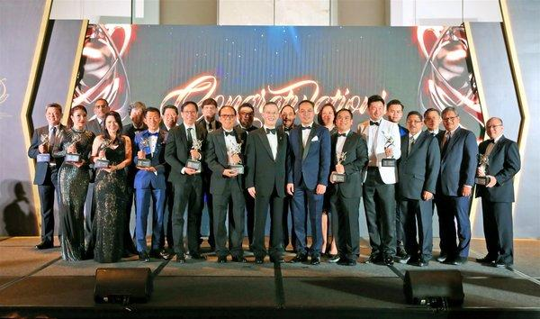 Asia Pacific Entrepreneurship Awards 2019 Singapore Winners Group Photo