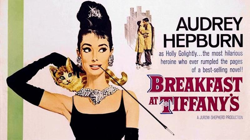 """This image released by Paramount Home Video shows a movie poster from """"Breakfast at Tiffany's starring Audrey Hepburn. Memorable movies, including """"Breakfast at Tiffany's,"""" """"Dirty Harry,"""" """"A League of Their Own"""" and """"The Matrix"""" are being preserved for their enduring significance in American culture as The Library of Congress announces, Wednesday, Dec. 19, 2012, the slate of films it will induct into the National Film Registry. (AP Photo/Paramount Home Video)"""
