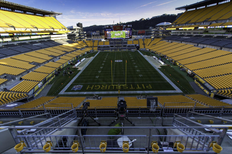 PITTSBURGH, PA -DECEMBER 02: A general view of Heinz Field before the NFL football game between the Los Angeles Chargers and the Pittsburgh Steelers on December 02, 2018 at Heinz Field in Pittsburgh, PA. (Photo by Mark Alberti/Icon Sportswire via Getty Images)