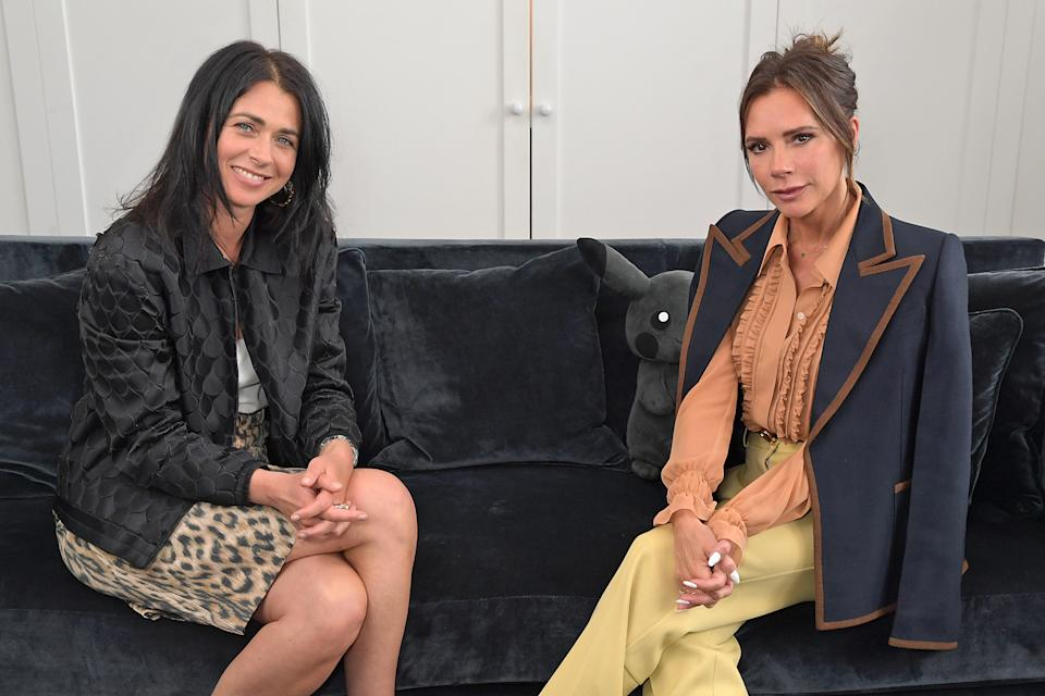 <p>Victoria Beckham in conversation with Emily Sheffield for London Rising</p> (Dave Benett)