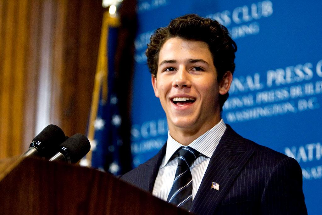 "Nick Jonas has eyes on a new gig too, but his is a little further off. ""I've always had this dream of becoming president one day,"" the 16-year-old pop star revealed Monday while in Washington, D.C., to raise awareness of juvenile diabetes. Paul Morigi/<a href=""http://www.wireimage.com"" target=""new"">WireImage.com</a> - August 24, 2009"