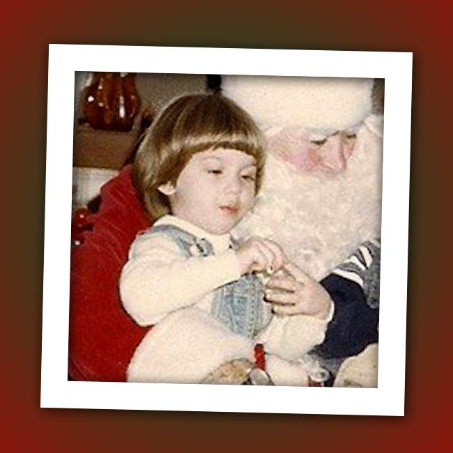 This little girl might have told Santa she wanted a rose for Christmas. Who did this girl grow up to be?