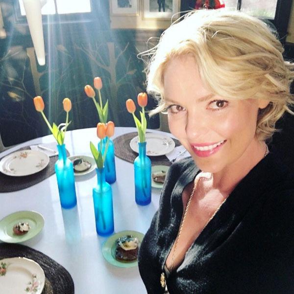 katherine heigl table