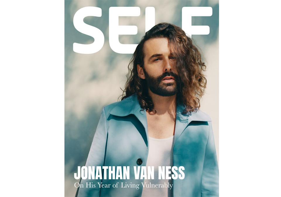 Jonathan Van Ness, on the cover of the latest issue of 'Self,' speaks out about everything from being HIV-positive to living in Austin in a wide-ranging interview. (Photo: Self/Instagram)