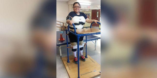 PHOTO: Gloria Suarez continues her rehabilitation after being paralyzed nearly five years ago. (Courtesy Gloria Suarez)