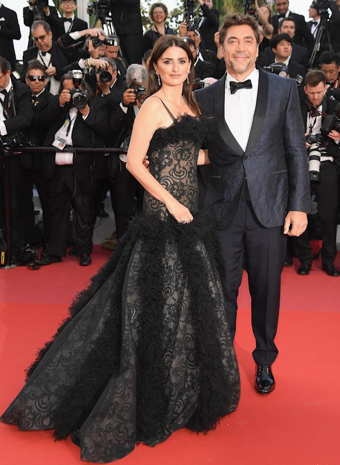 """<a href=""""https://people.com/movies/oscars-2019-javier-bardem-penelope-cruz-where-keep-awards/"""">The actor gave fans some intrigue</a> during the 2019 Oscars, when he told PEOPLE that he and wife Cruz keep their trophies (they each have one) in """"a place that's not so obvious."""" He continued, """"We can see in the corner of our eye, so it's not like, <em>they are there</em>. And if you miss them, you go there in secret and you hold it, then you go back to the living room."""""""