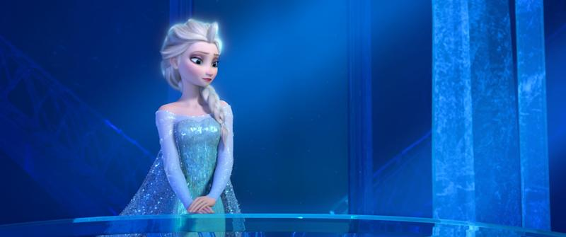 FROZEN, Elsa (voice: Idina Menzel), 2013. Walt Disney Pictures/courtesy Everett Collection