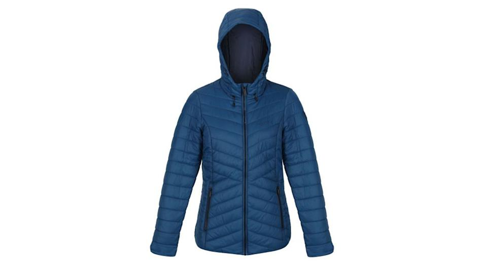 Women's Voltera Loft Insulated Quilted Hooded Heated Walking Jacket