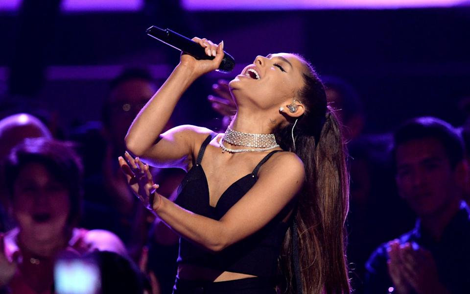 The Grammy-winning singer Ariana Grande is back with her sixth album - Getty