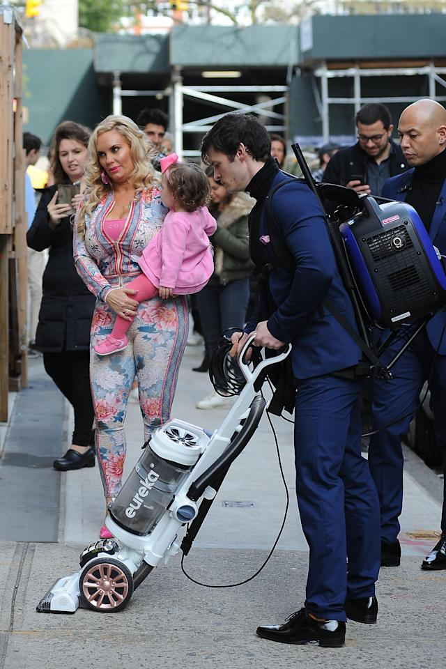 Coco Austin and daughter Chanel. (Photo: Getty Images)