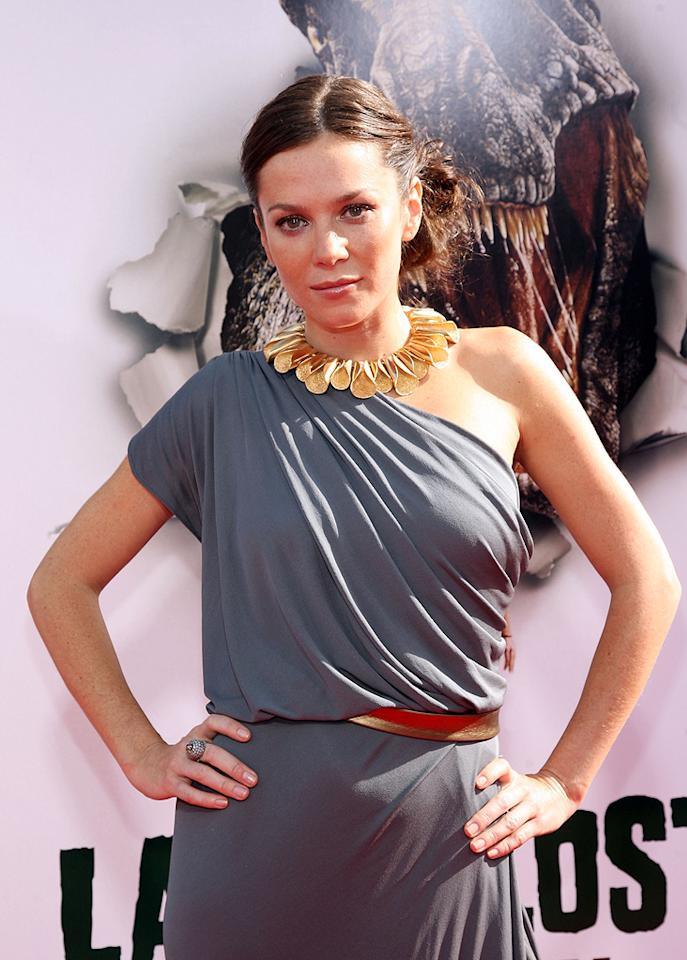 """<a href=""""http://movies.yahoo.com/movie/contributor/1800018592"""">Anna Friel</a> at the Los Angeles premiere of <a href=""""http://movies.yahoo.com/movie/1809953162/info"""">Land of the Lost</a> - 05/30/2009"""