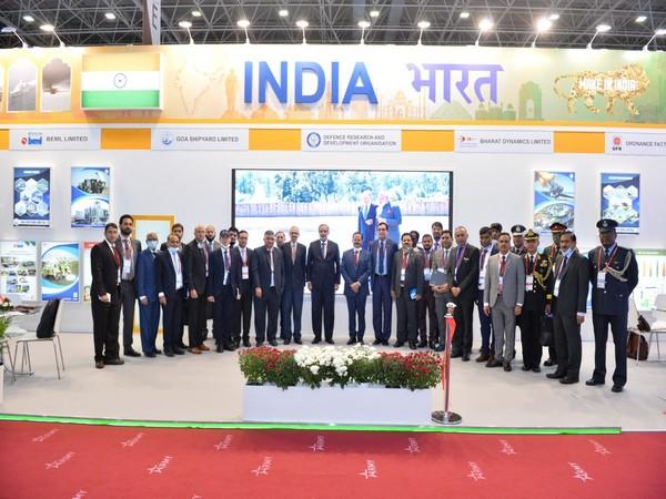 India Pavilion at Army-2020 International Military and Technical Forum inaugurated in Russia. (Photo source: India in Russia Twitter)