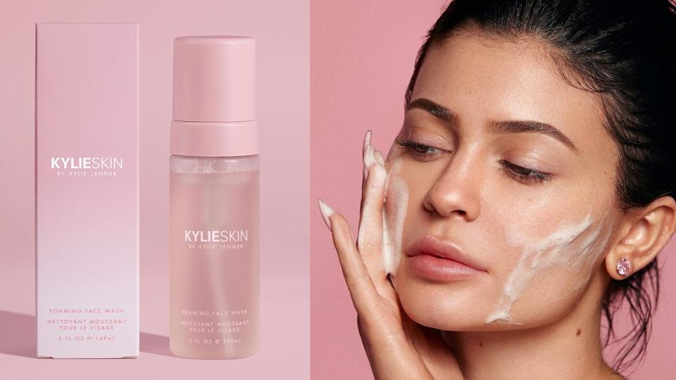 Kylie Skin Foaming Face Wash, $24.