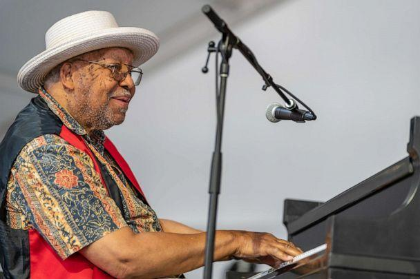 PHOTO: Ellis Marsalis performs during the 2018 New Orleans Jazz & Heritage Festival at Fair Grounds Race Course on May 6, 2018, in New Orleans. (Douglas Mason/Getty Images, FILE)