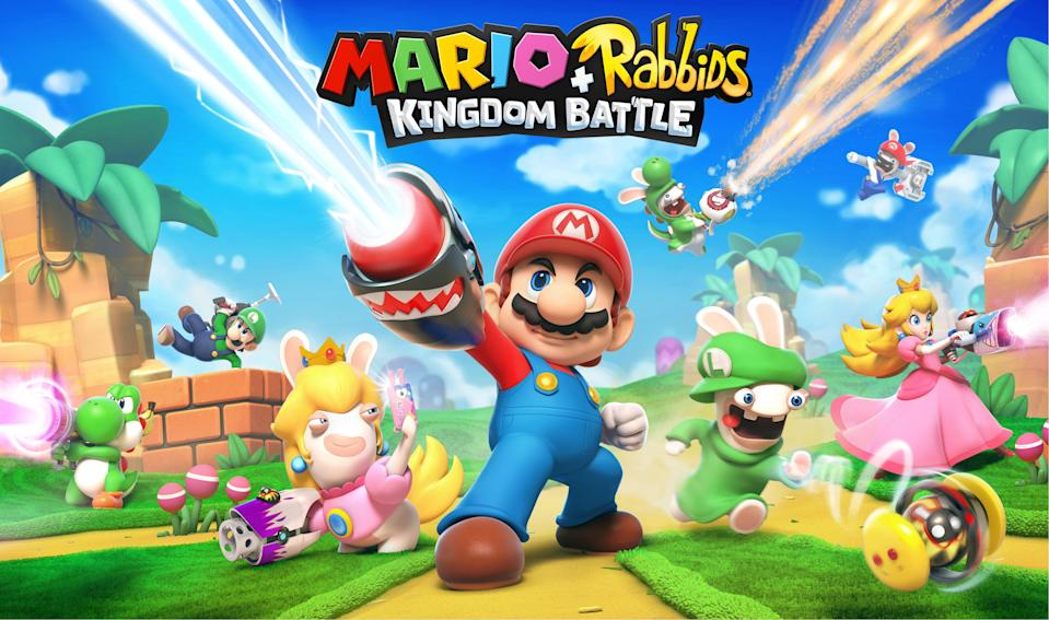 'Mario + Rabbids Kingdom Battle' is an insane mix of strategy and absurdity