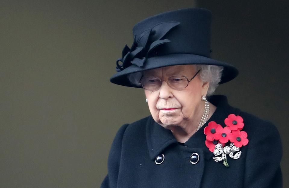 The Queen at the National Service of Remembrance