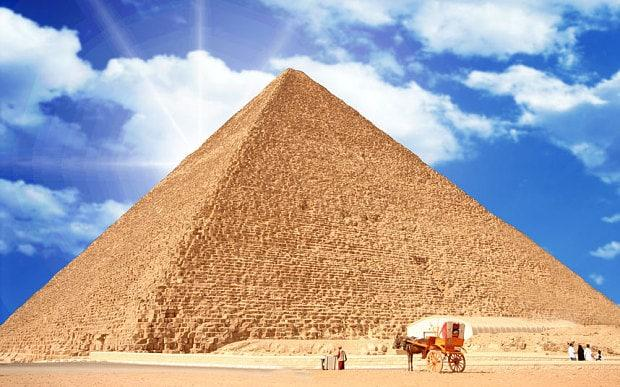 This was the tallest man-made structure for more than 3,800 years