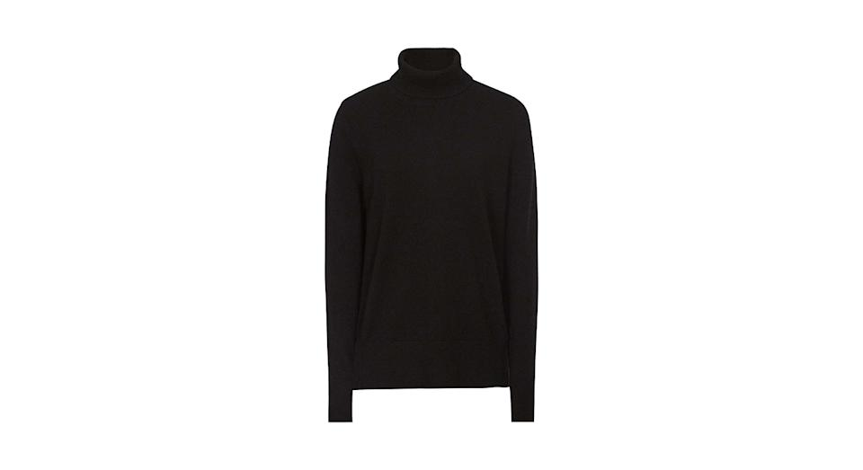 Reiss Colette Cashmere Roll Neck Jumper