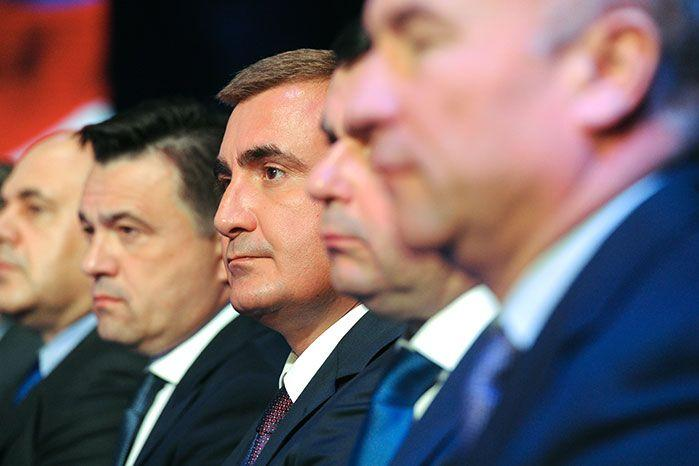 The former deputy defence minister Alexei Dyumin could be Putin's successor. Image: Getty