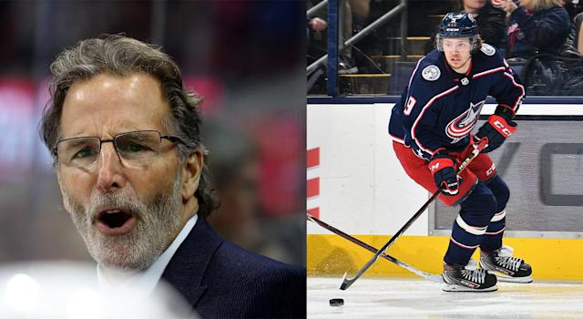 Blue Jackets' head coach John Tortorella made it very clear why Artemi Panarin won't be playing against the Canadiens. (Getty Images)