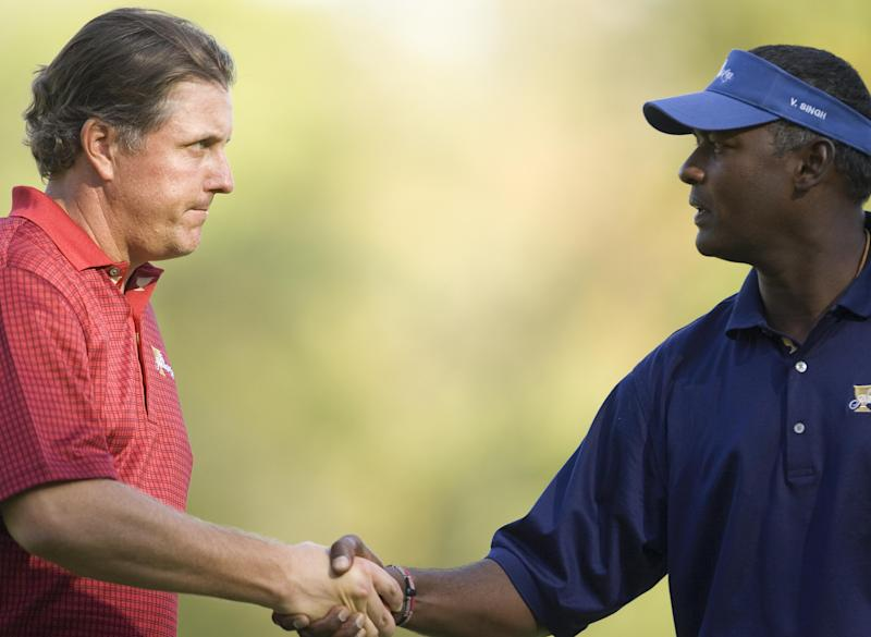 Vijay Singh a 'complete turd' for Korn Ferry entry: Tour golfer
