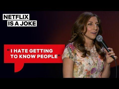 "<p>Peretti is best known these days for her role as Gina Linetti on <em>Brooklyn Nine-Nine, </em>but her 2014 Netflix special <em>One of the Greats </em>is one of the funniest comedy hours in recent memory. Not only does it include her thoughtful and 'so funny it's true' type jokes on things like dating and modern culture, but it also gets experimental with the format of a 'comedy special,' cutting her routine in with segments of her in character, sometimes even as a clown. Peretti was a writer on <em>Parks and Recreation </em>before she was part of <em>Brooklyn Nine-Nine, </em>and it's clear that she's got the comedy chops to eventually have many more entries on lists like this one. <em>—ER</em></p><p><a href=""https://www.youtube.com/watch?v=gWD6t_k4Uro"" rel=""nofollow noopener"" target=""_blank"" data-ylk=""slk:See the original post on Youtube"" class=""link rapid-noclick-resp"">See the original post on Youtube</a></p>"