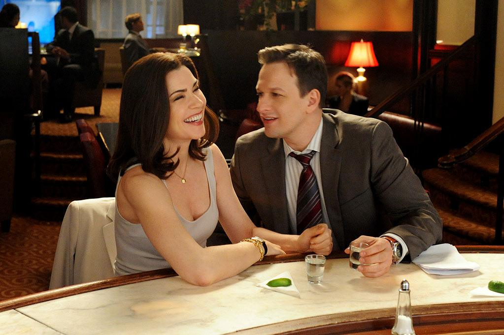 "BEST: ""<a href=""/good-wife/show/44803"">The Good Wife</a>"" — We were completely charmed as Alicia and Will flirted at a hotel bar, tried to coyly get a room for an hour at a fancy establishment, enjoyed an elevator make-out session and then fumbled with their room key. The clumsiness was a big plus, and with everything going on with Peter, it was a relief that the whole season didn't end on an angsty moment."