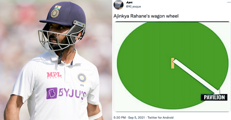 Twitter Reacts As Ajinkya Rahane Falls For A Duck In The Oval Test