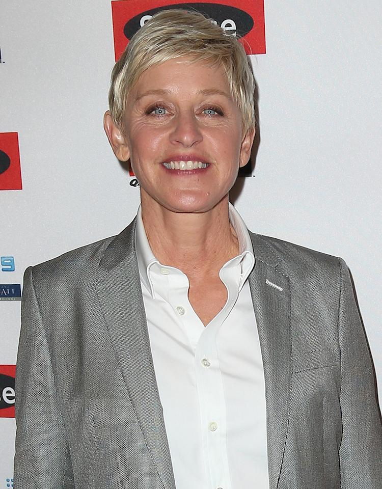 """<b>Louisiana:</b> Ellen DeGeneres<br /><b>Birthplace:</b> Metarie<br /><b>Fun Fact:</b> While the daytime talk show host no longer resides in the Pelican State, she always does something to mark Mardi Gras, whether it's soliciting pics of viewers partying it up, playing the jokey game """"Flash Me Your Falsies,"""" or flying 50 New Orleanians to sit in the audience of her show in Burbank, California, as she did in 2007. What's the L.A. translation of <i>laissez les bons temps rouler</i>?"""