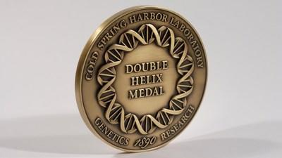 The Double Helix Medal. Image Credit: CSHL