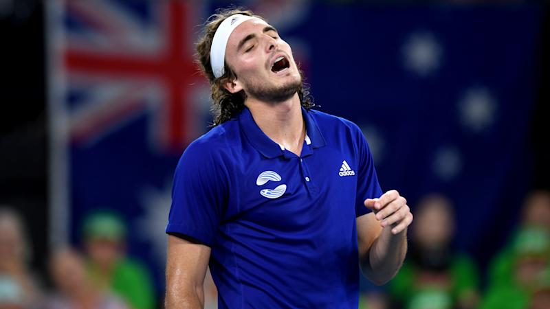 Frustration for Zverev and Tsitsipas as Russia and GB progress at ATP Cup