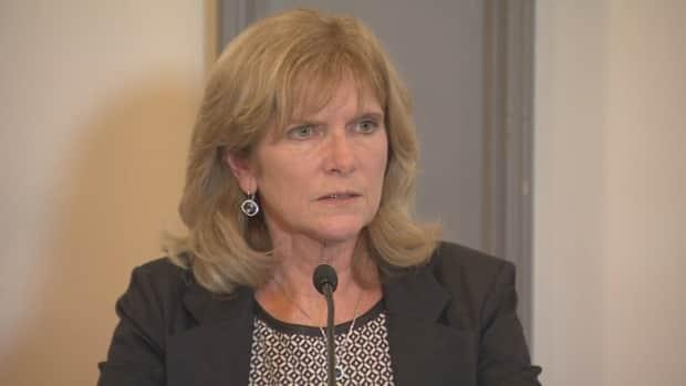 Auditor General Kim Adair-MacPherson's report is critical of how New Brunswick tried to implement a system of electronic medical records. (Ed Hunter/CBC - image credit)