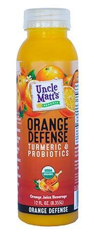 <p>Orange juice is a powerhouse when it comes to immune support thanks to the natural vitamin C and hydration that it offers. <span>Uncle Matt's Orange Defense</span> ($3) takes organic orange juice and adds a boost of turmeric and live probiotics to support a healthy immune system.</p>