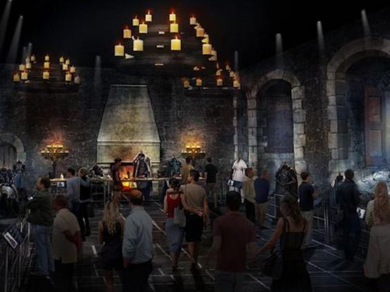 Guests will be able to visit iconic sets from the hit series, including The Map Room (Credit: HBO Game of Thrones Studio Tour)