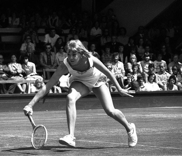 Sue Barker won the French Open at the tender age of 20 (PA)